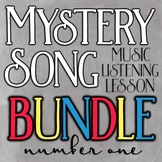 Mystery Song Music Listening: Bundle #1