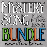 Mystery Song Music Listening: Bundle #4