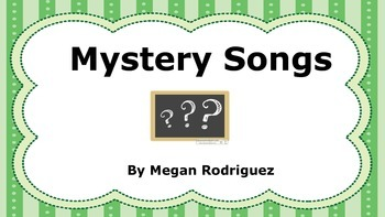Mystery Songs