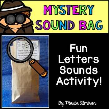 Mystery Sound Bags - Letter Sound Activity