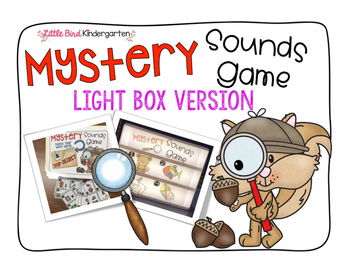 Mystery Sound Game Light Box Version