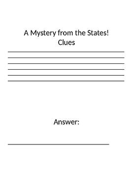 Mystery State Project