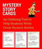 Mystery Story Cards for Writing Mysteries
