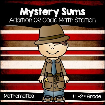 Mystery Sums (QR Code Math Station)