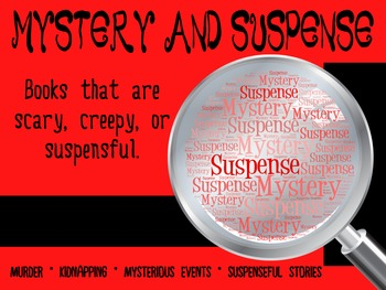Mystery/Suspense Genre Poster