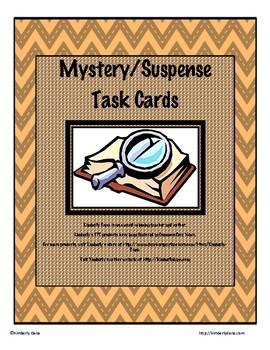 Mystery/Suspense Task Cards