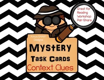 Mystery Task Cards: Context Clues