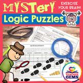 Mystery Theme Logic Puzzles