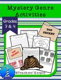 Mystery Theme Activities: F.B.I. Fabulous Book Investigations