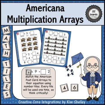 Mystery Tile Americana Array Game
