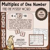Mystery Tile Animal Multiples Game