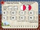 Mystery Tile COMPARING Fractions Game