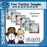 Mystery Tile Fraction FREEBIE Sampler