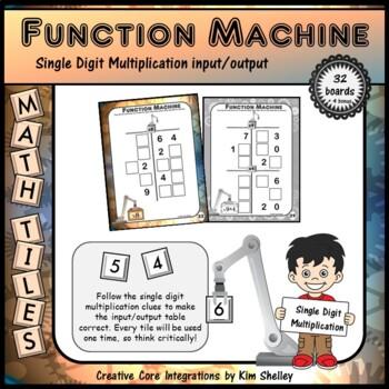 Mystery Tile Multiplication Game BUNDLE