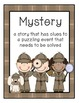 Mystery Unit - Book Report