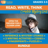 Mystery Unit   Read, Write & Think Like a Detective Activities