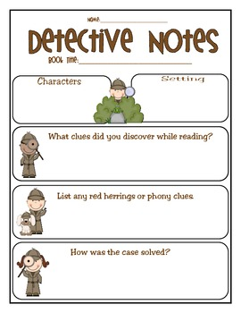 Mystery Unit: Complete With a Case for Your Students to Solve!