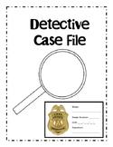 Mystery Unit Detective Case Report