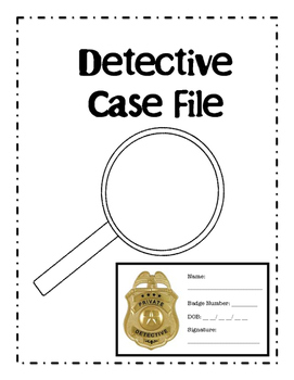 Mystery Unit Detective Case Report
