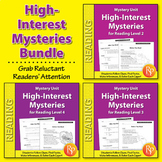 Mystery Unit: High-Interest Mysteries {Bundle}