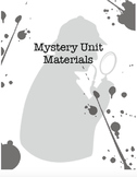Mystery Unit Materials