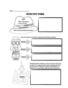 Mystery Unit Notebook