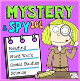 Mystery - Spy 101 Reading Response Book Log