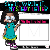 Mystery Uppercase Letter Formation - See it. Write it
