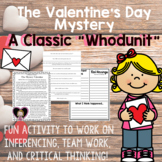 Mystery Valentine Game - Inferencing and Critical Thinking Group Activity