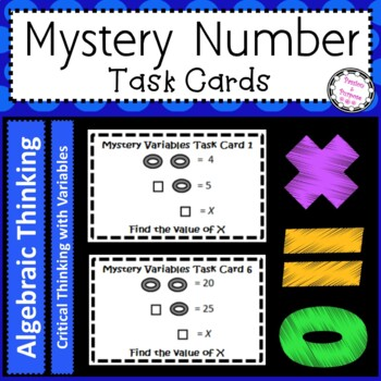 Mystery Variables -Your Kids Will Love the Challenge - Fun