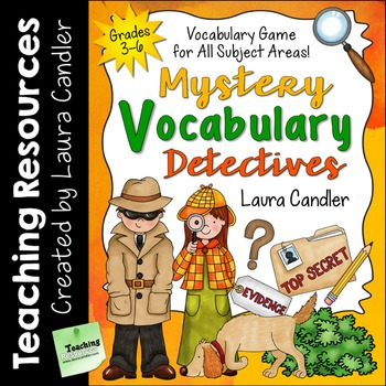 Vocabulary Activity with Editable Word Templates