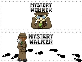 Mystery Walker and Worker Tool Kit