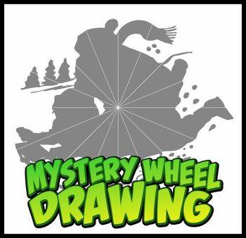 Mystery Wheel Drawing - Sledding