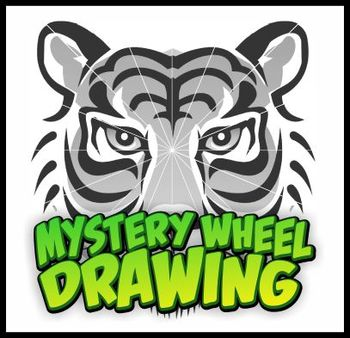 Mystery Wheel Drawing - Tiger