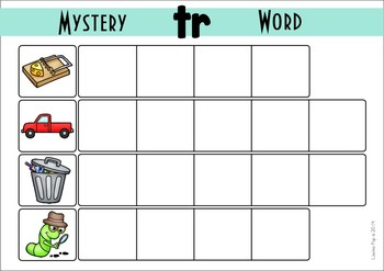Mystery Word - Beginning Blends