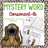 Consonant-le Phonics Riddles Word Work