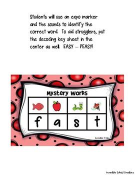 Mystery Word Decoding