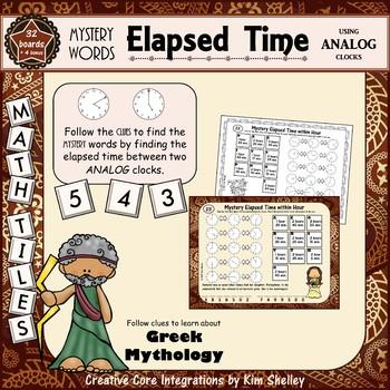 Mystery Word Elapsed Time ANALOG