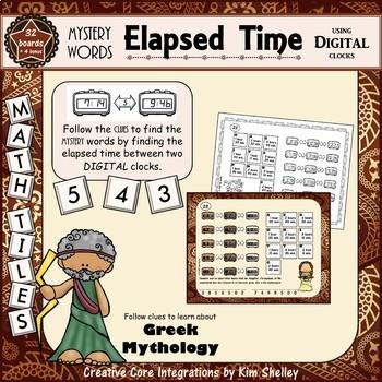Mystery Word Elapsed Time Mini-Bundle
