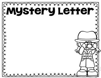 Mystery Word Freebie