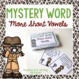 Mystery Word: More Short Vowel Sounds