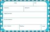 Vocabulary Notecards