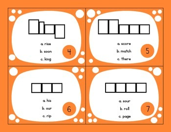 Mystery Word Puzzle Task Cards