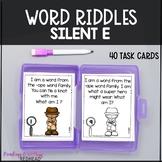 Mystery Word: Silent e