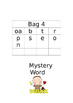 Mystery Word Sound Bags