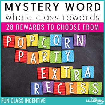 Whole Class Rewards | Mystery Word