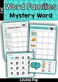 CVC Word Families Mystery Word