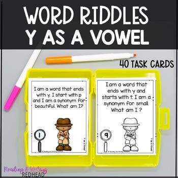 Mystery Word: Y Endings