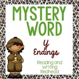 Mystery Word: Y Endings