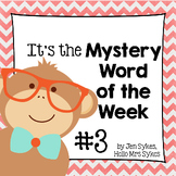 Mystery Word of the Week 3